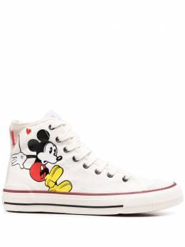 Moa Master Of Arts высокие кеды Mickey Mouse MD635LIMITEDCANVAS