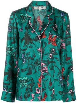 Dvf Diane Von Furstenberg платье на пуговицах с цветочным принтом 15628DVFTOMEB