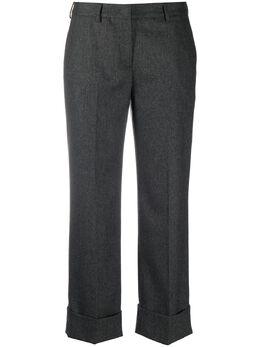 Lardini укороченные брюки строгого кроя REMIGIODA7025