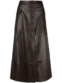 Soulland юбка Cilla на пуговицах W11531082