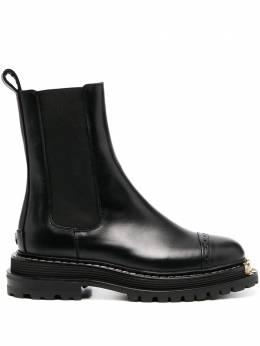 Sandro ботинки со вставками SFACH00498