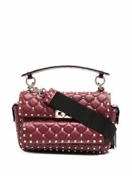 Valentino Garavani стеганая сумка-тоут Spike UW0B0H70LQD