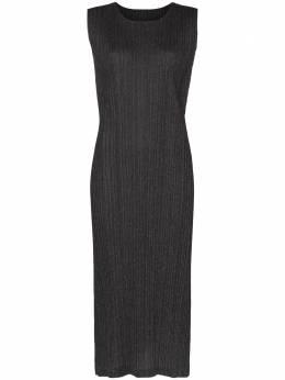 Pleats Please Issey Miyake плиссированное платье миди PP08JH626