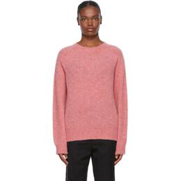 Ymc Pink Wool Jets Sweater Q8PAI