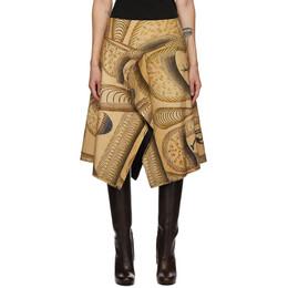 Lemaire Multicolor Martin Ramirez Double Flap Skirt W 204 SK261 LF538