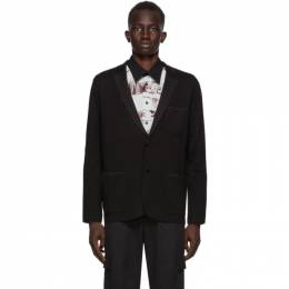 Brioni Black Knit Travel Blazer UMHI0L O9K13
