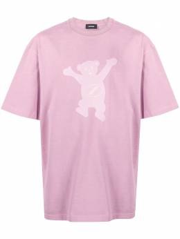 We11Done футболка с принтом WDTT820103UPK