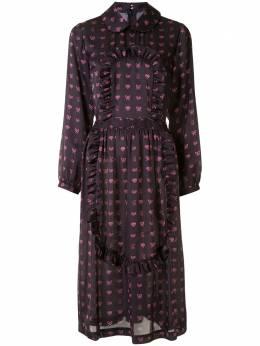 Comme Des Garcons Girl платье с принтом NFO00105113