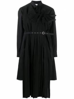 Comme Des Garcons Noir Kei Ninomiya деконструированное платье миди асимметричного кроя 3FB01705112