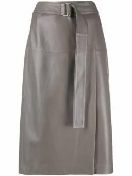 Joseph юбка А-силуэта с поясом JF005104