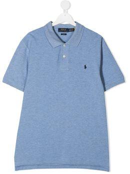 Ralph Lauren Kids рубашка поло с вышитым логотипом 3237088857055