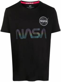 Alpha Industries футболка с принтом NASA 178501RR