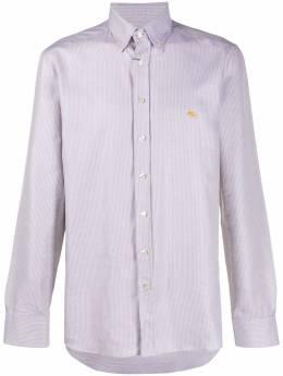 Etro рубашка Fantasia с вышивкой 163653105