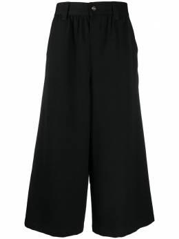 Comme Des Garcons Pre-Owned укороченные брюки широкого кроя 2000-х годов CMME420