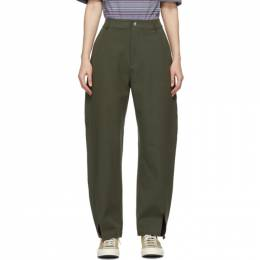 Ymc Green Liz Trousers Q4PAK