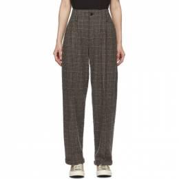 Ymc Brown Keaton Trousers Q4PAL