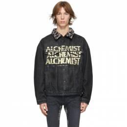 Alchemist Black Denim Too Young To Die Jacket ALMGFW20MJ04