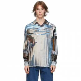 Eytys Multicolor David Brandon Geeting Edition Urban Debris Lumi Shirt LUUD