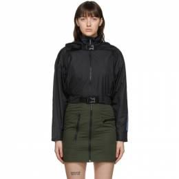 MCQ by Alexander McQueen Black Detachable Hood Jacket 624191RPF21