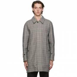 Mackintosh Reversible Grey Wool Whitemire Coat MOP5214C