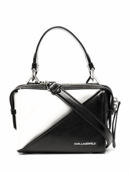 Karl Lagerfeld сумка на плечо в стиле колор-блок с логотипом 201W3111998