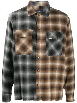 Represent фланелевая рубашка в клетку тартан M06028012