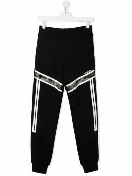 Neil Barrett Kids спортивные брюки 25908