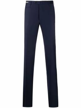 Corneliani узкие брюки строгого кроя 865B040818537