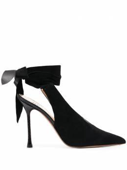 Francesco Russo туфли с ремешком на щиколотке FR35173B12150