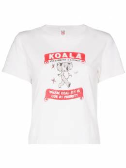 Re/Done футболка с надписью 0242WCGT157