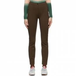 Eckhaus Latta Brown Ride Trousers 950-EL-AW20-T