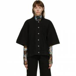 Henrik Vibskov Black Denim Sponge Jacket AW20-F213 374/999
