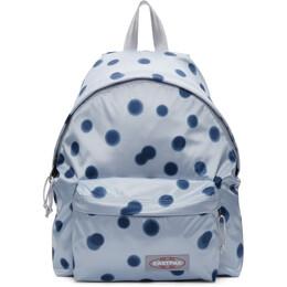 Eastpak Blue Polka Dot Padded Pakr Backpack EK000620B82