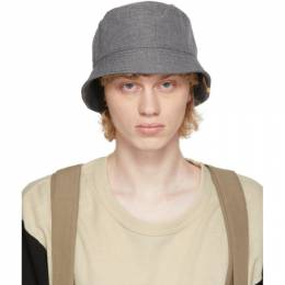 Visvim Grey Dome Flap Hat 0120203003012