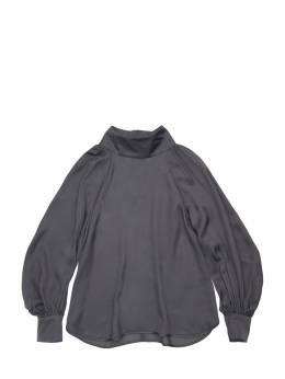 Рубашка Из Атласа Unlabel 72IFIN036-QU5UUkFDSVRF0