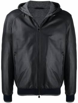 Corneliani куртка на молнии с капюшоном 86L5C30820107