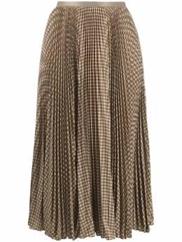 Polo Ralph Lauren плиссированная юбка миди в ломаную клетку 211809323001