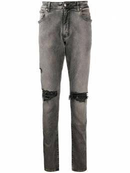 Represent прямые джинсы средней посадки M07044028