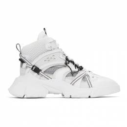MCQ by Alexander McQueen White Orbyt No. 0 Sneakers 630794R2708
