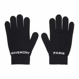 Givenchy Black Logo Gloves BPZ018 P090