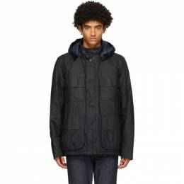 Barbour Navy Norse Projects Edition Wax Ursula Jacket MWX1731NY51