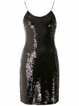 Armani Exchange платье мини с пайетками 6GYA23YNPKZ
