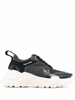 Zadig & Voltaire кроссовки на шнуровке с логотипом WJAM1731F