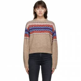 Rag&Bone Tan Finlay Sweater WAS20FS0518L51