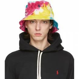 Polo Ralph Lauren Multicolor Tie-Dye Laguna Bucket Hat 710800250001