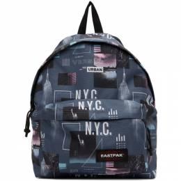 Eastpak Grey Padded Shapes Pakr Backpack EK000620C56