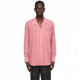 Our Legacy Pink Wool Loco Shirt M4202LP