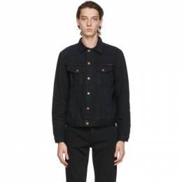 Nudie Jeans Black Denim Bobby Jacket 160708
