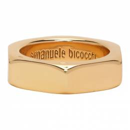Emanuele Bicocchi Gold Bolt Ring BTA1G