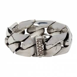 Emanuele Bicocchi Silver Soft Chain Ring ACT7